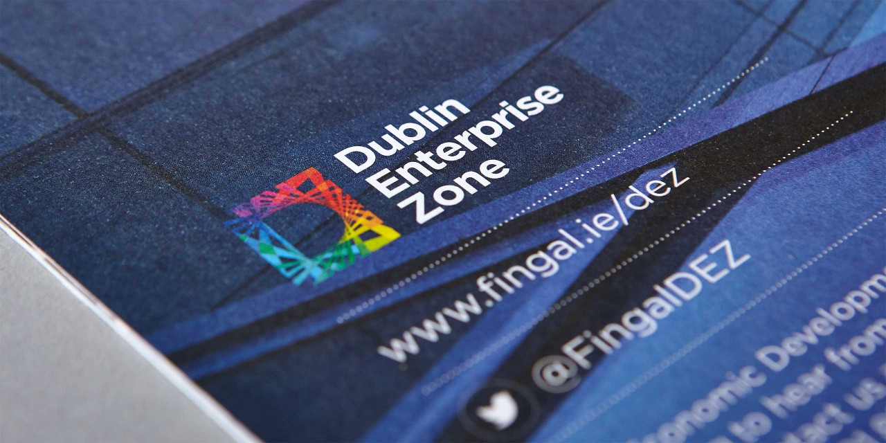Dublin Enterprise Zone Brochure Cover
