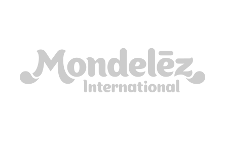 Image of the Mondelez International logo