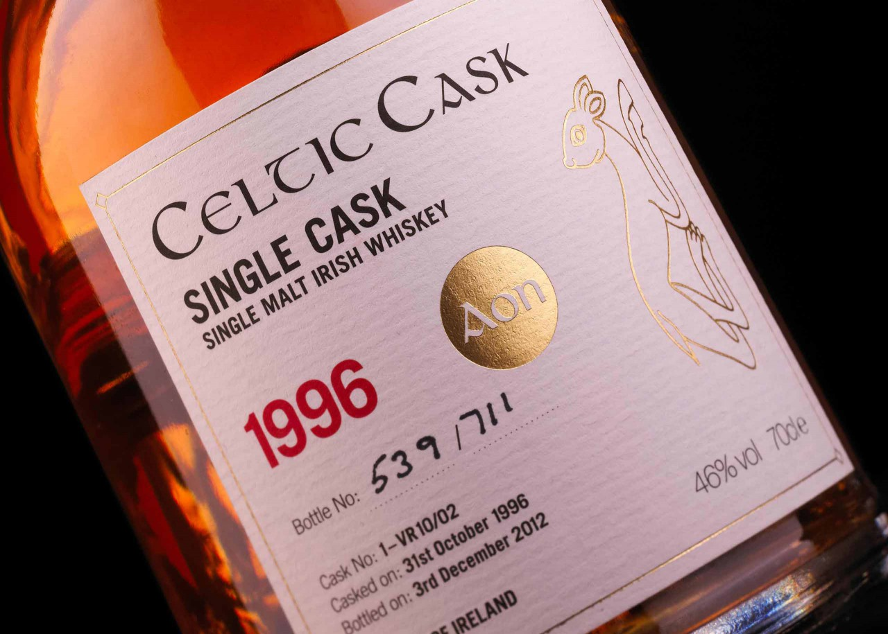 The first six editions of the Celtic Casks featured illustrations inspired by the Books of Durrow and Kells.