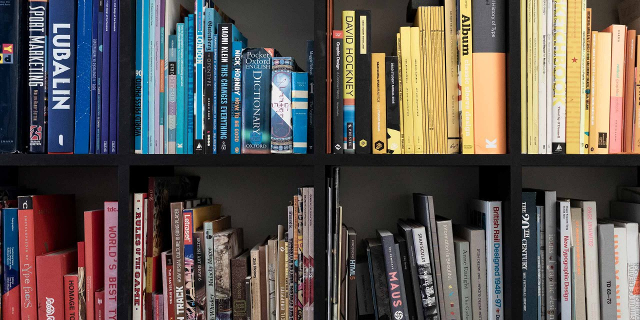 Image of New Graphic bookshelf