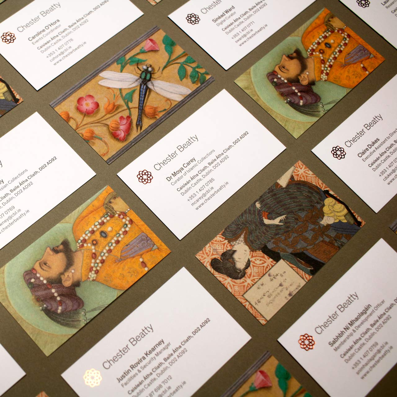 Image of Chester Beatty Business Cards