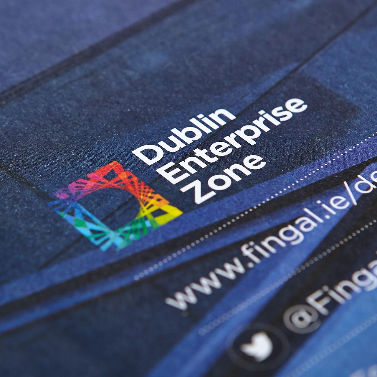Image of the Dublin Enterprise Zone brochure by New Graphic