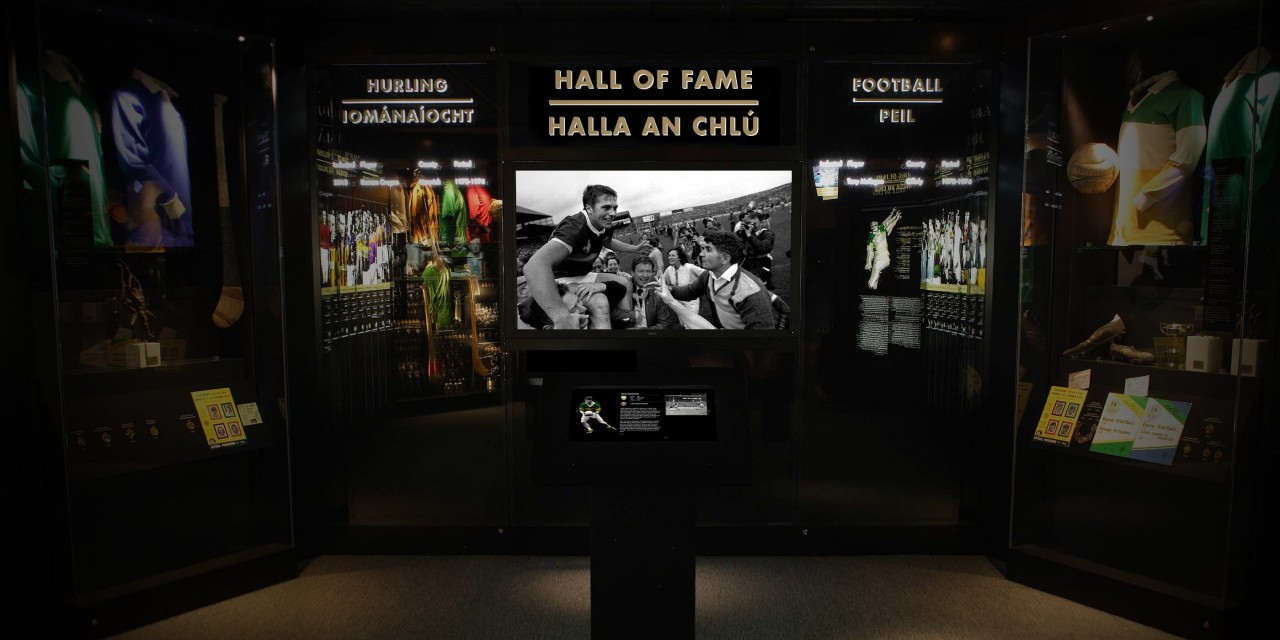 Each year sees a new Hurler and Footballer added to the Hall of Fame.