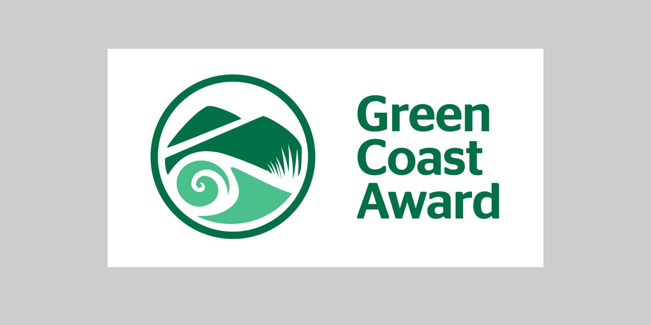 Image of the Green Coast Award logo