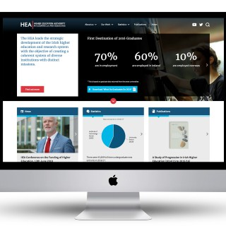 Website for the Higher Education Authority