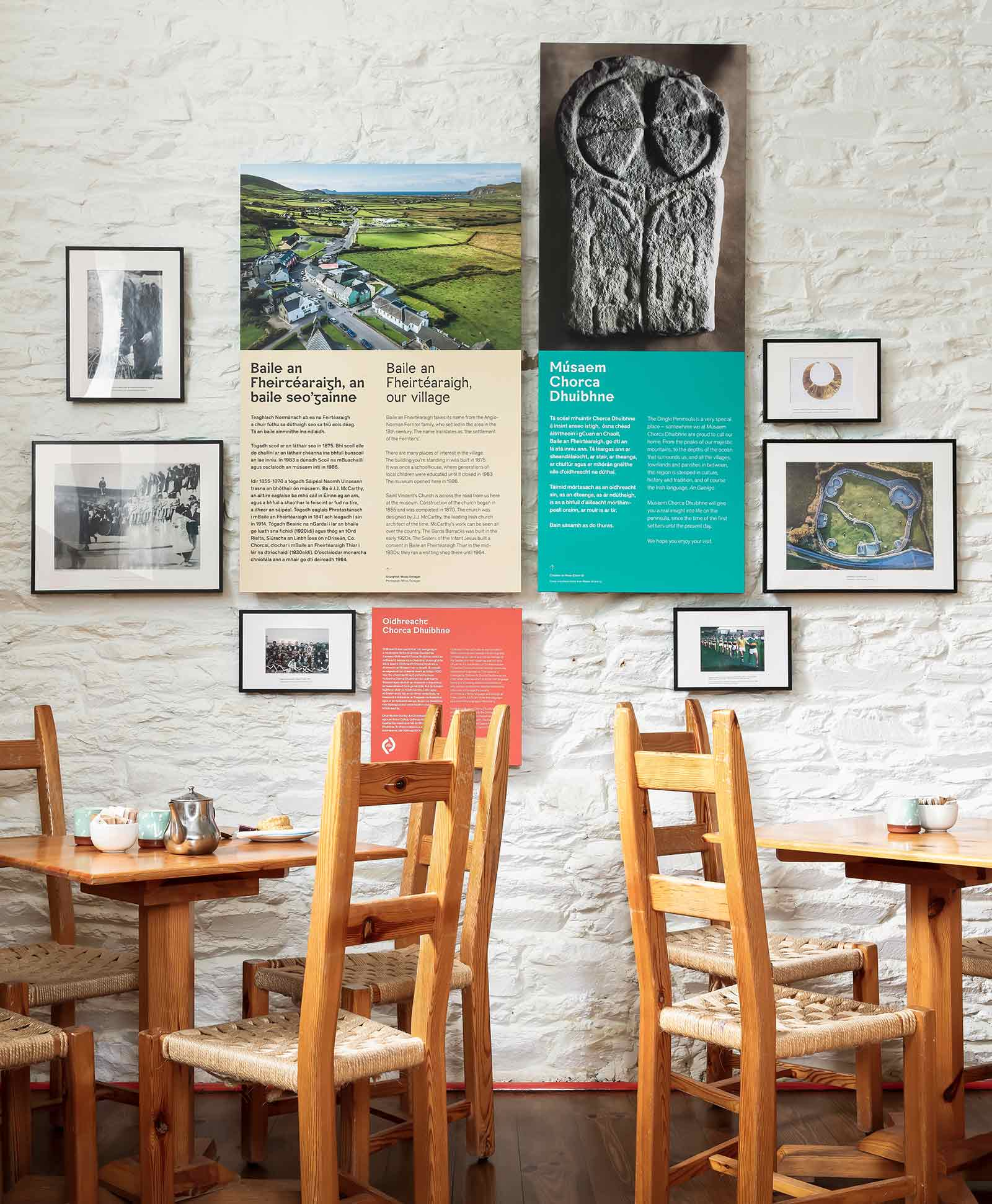 Cafe Area in West Kerry Museum