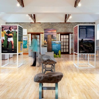 Exhibition design for the West Kerry Museum