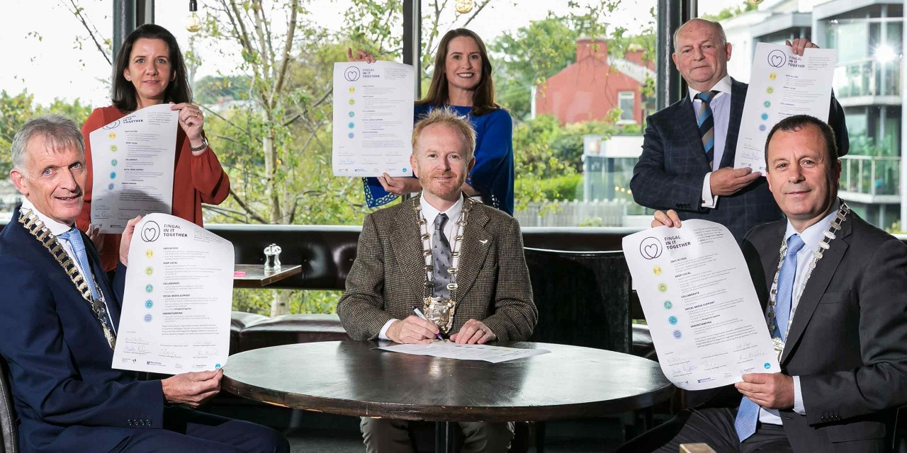 Signing of the Fingal In It Together Charter