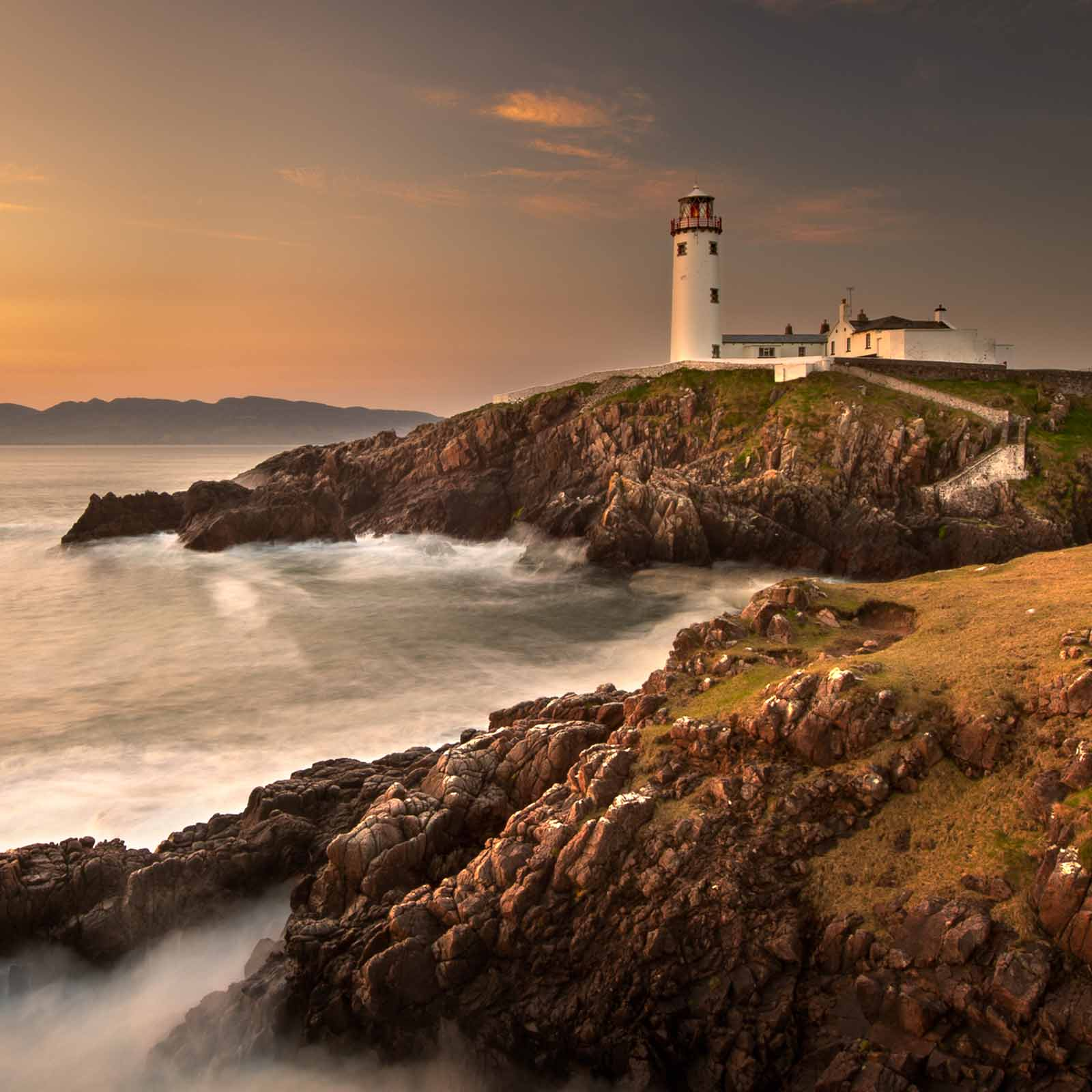 Fanad Lighthouse by George Karbus