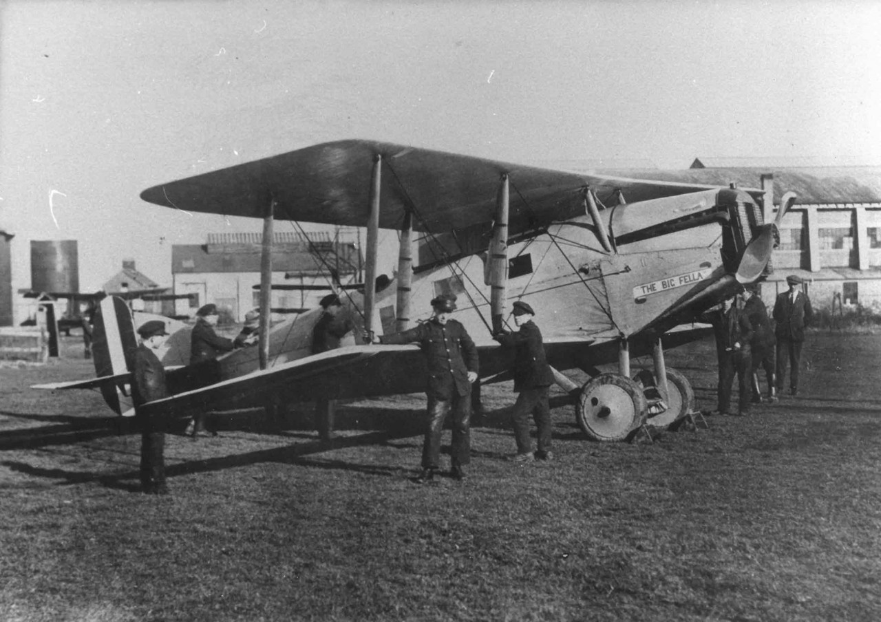 Due to fears the talks might collapse the IRA purchased a Biplane, The Big Fella, that could swiftly bring Collins & the other plenipotentiaries back to Ireland if needed. Military Arch: PRCN/66/2658